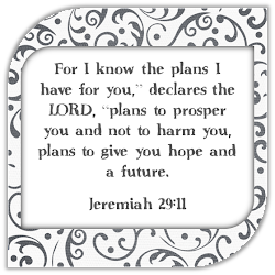 Jeremiah 29:11