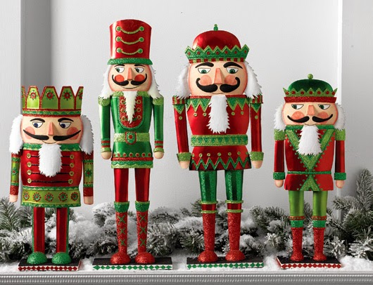 RAZ Metal Nutcracker Figurines at Trendy Tree