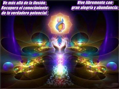 En los éteres hay pequeñas partículas divinas de no-cosa.