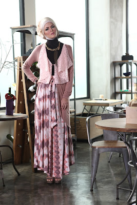 Hijab Trendy dengan Short Cardigan | Beauty And Style