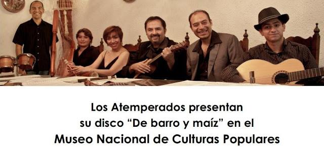 """Presenta nuevo disco el grupo """"Los Atemperados"""" en el Museo Nacional de Cultural Populares"""
