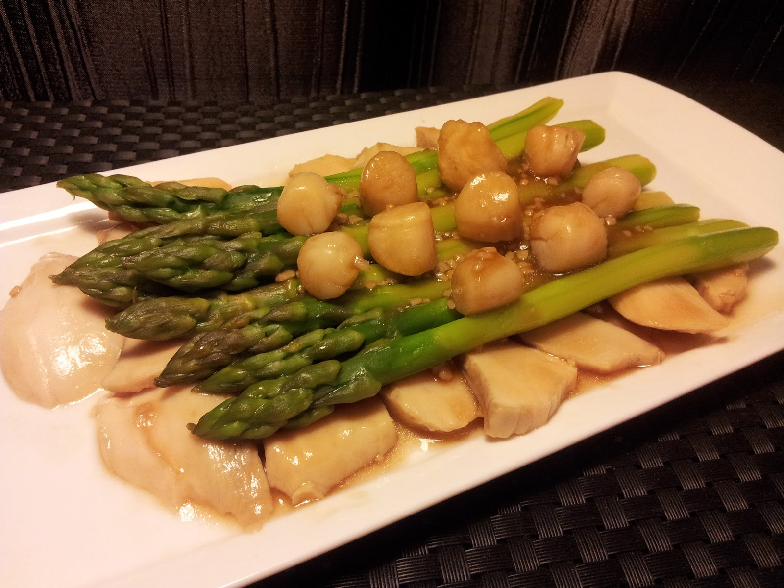 Scallop and Asparagus Stir-Fry picture