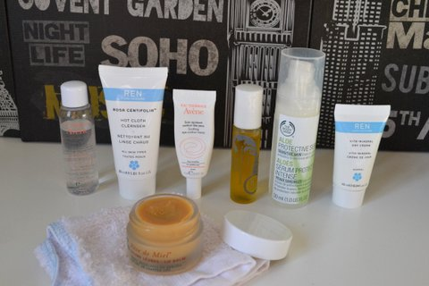 Travel Skincare Routine