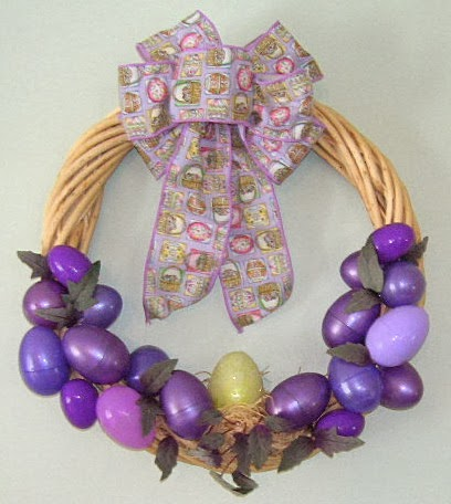 Easter Wreaths, part 1