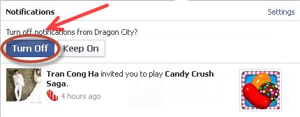Chặn mời chơi Game trên Facebook