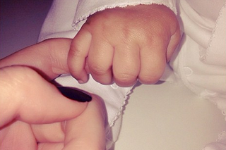 Kendall Jenner shares adorable picture of baby North's tiny hand