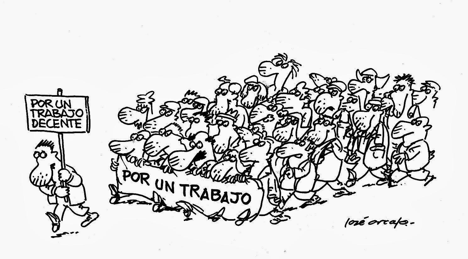TENEMOS DERECHO AL TRABAJO