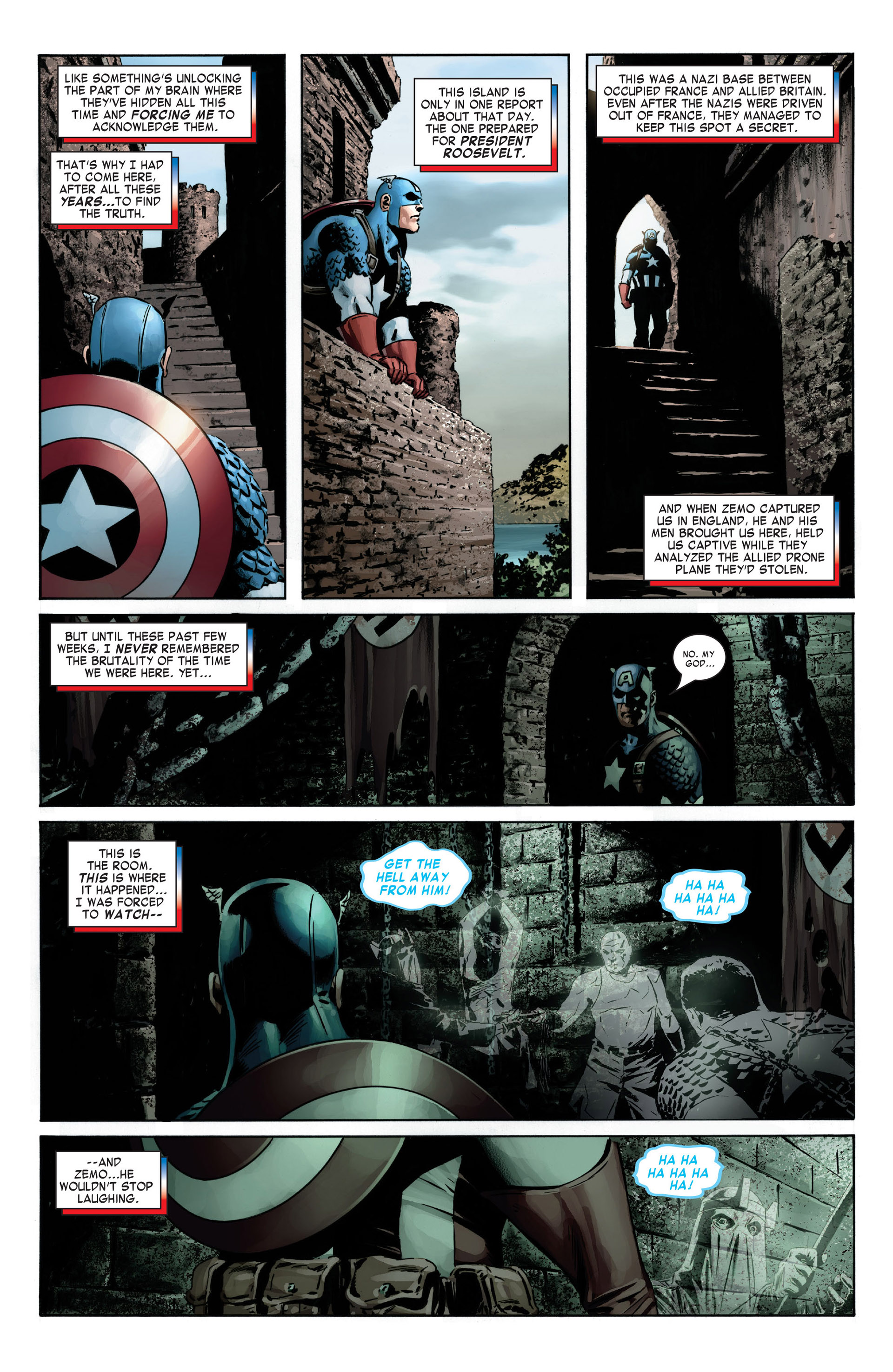 Captain America (2005) Issue #6 #6 - English 7