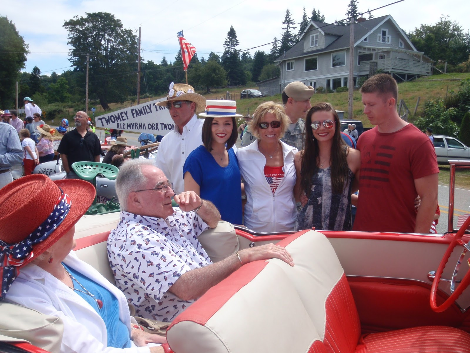 Maxwelton Beach 4th of July Parade