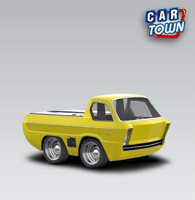 Dodge Deora skin car town