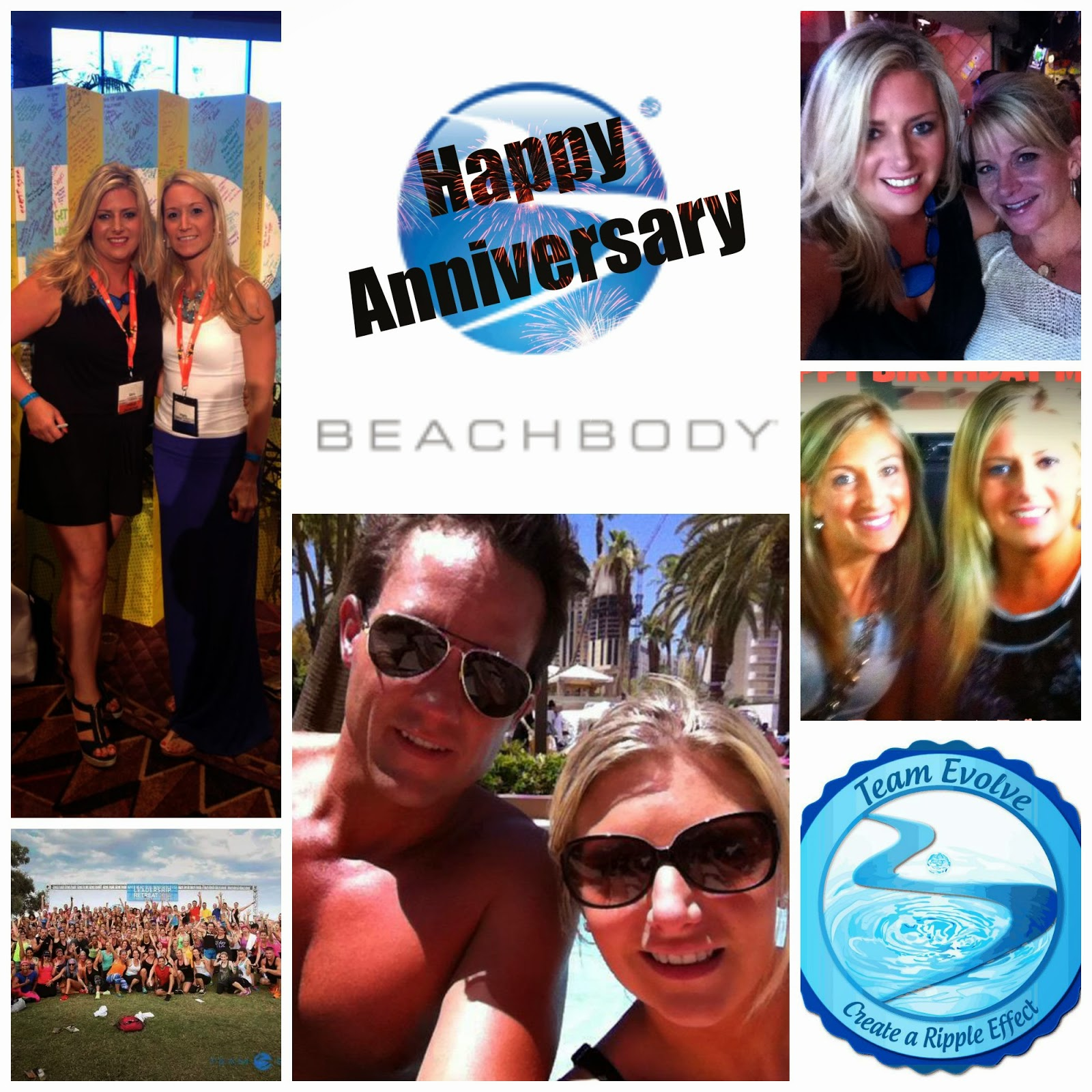 Sara Stakeley, Sarastakeley.com, Beachbody Coach, Beachbody Anniversary, Best job ever, Team Evolve,