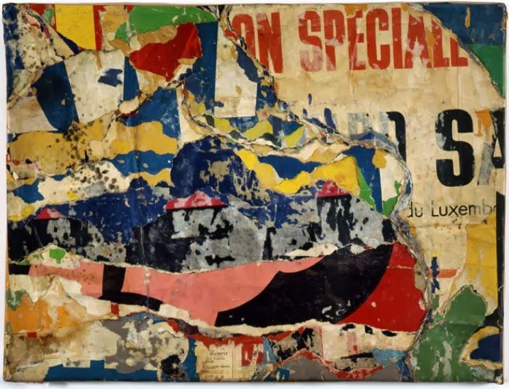Jacques Villegle: The Original Urban Artist | ineedartandcoffee