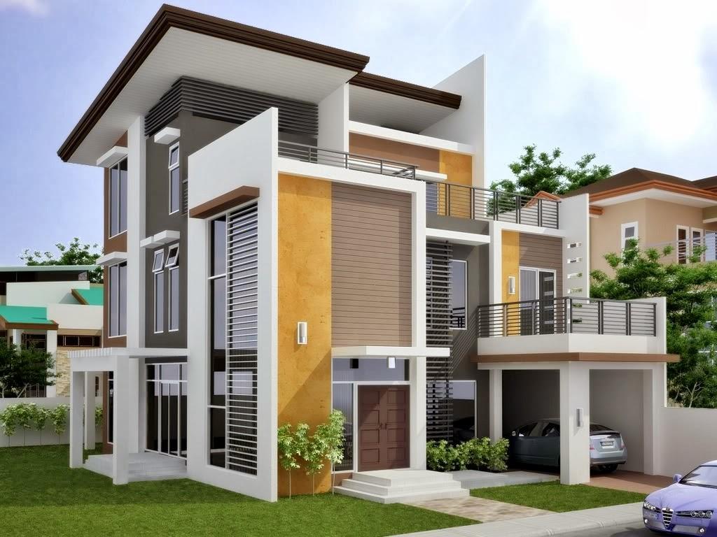 ide desain rumah minimalis 2 lantai terkini