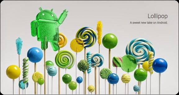 Google Mengenalkan Android 5.0 Lollipop