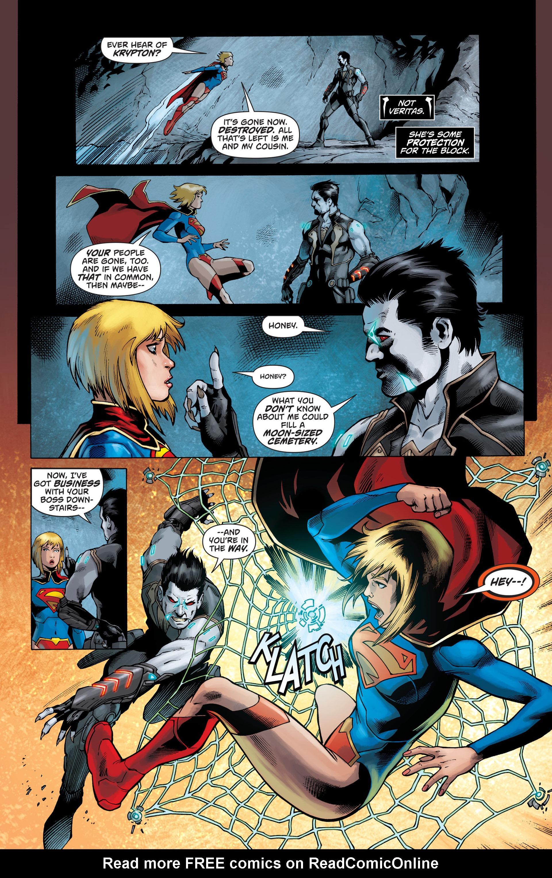 Supergirl (2011) Issue #26 #28 - English 16