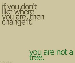 motivation, you are not a tree