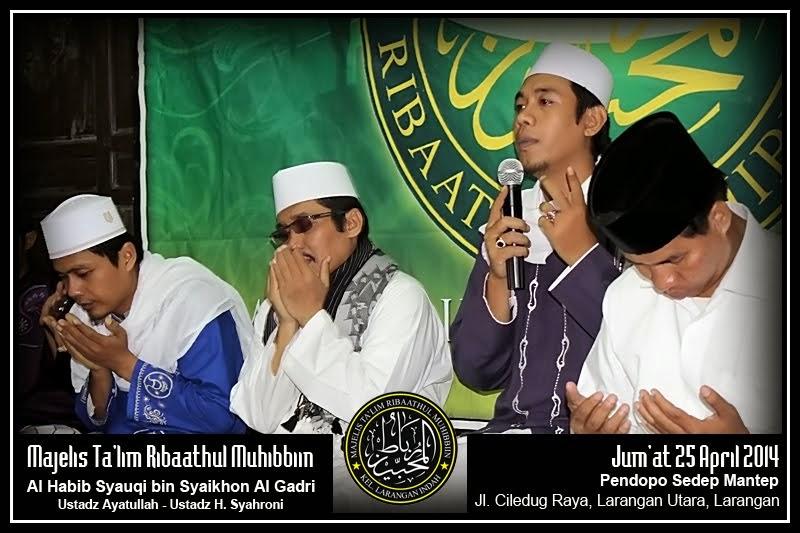 Maulid Bulanan, 25 April 2014