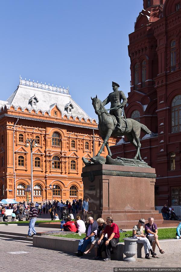 Памятник маршалу Г. К. Жукову | Monument to Marshall Georgy Zhukov