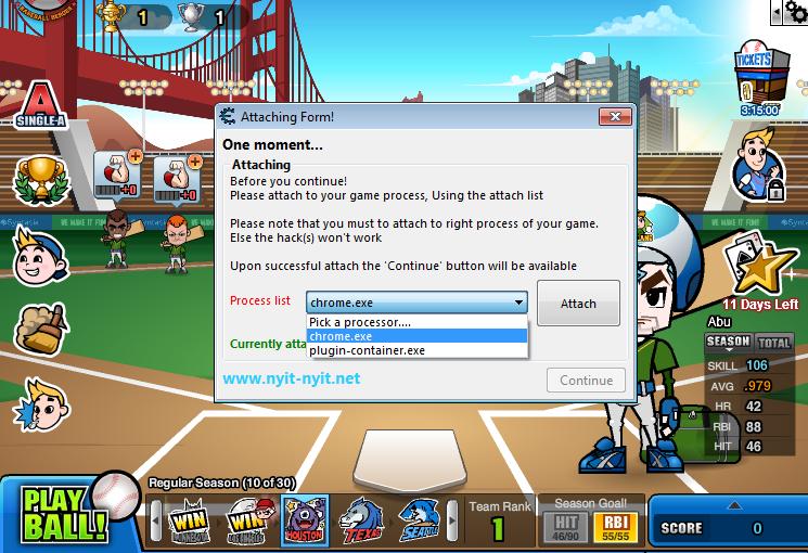 Cheat Baseball Heroes V557