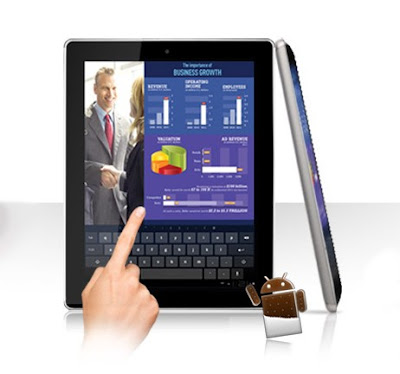 Advan Vandroid T6i, Tablet Layar Lebar 9.7 Inci