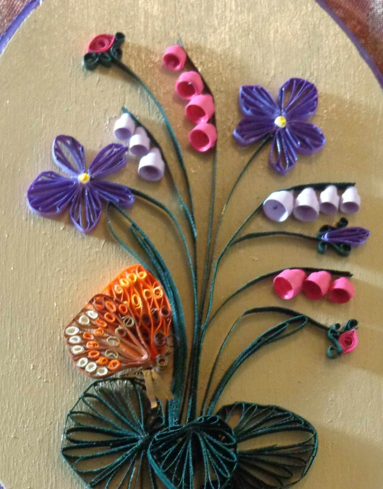 Quilling made easy a design from beautiful quilling step for Easy quilling designs step by step