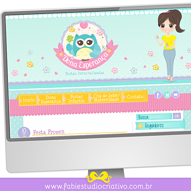 layout personalizado para blog, layout para blogger, layout para wordpress, blogger personalizado, blog para artesã, blog para scrapper, blog para pequenas empresas