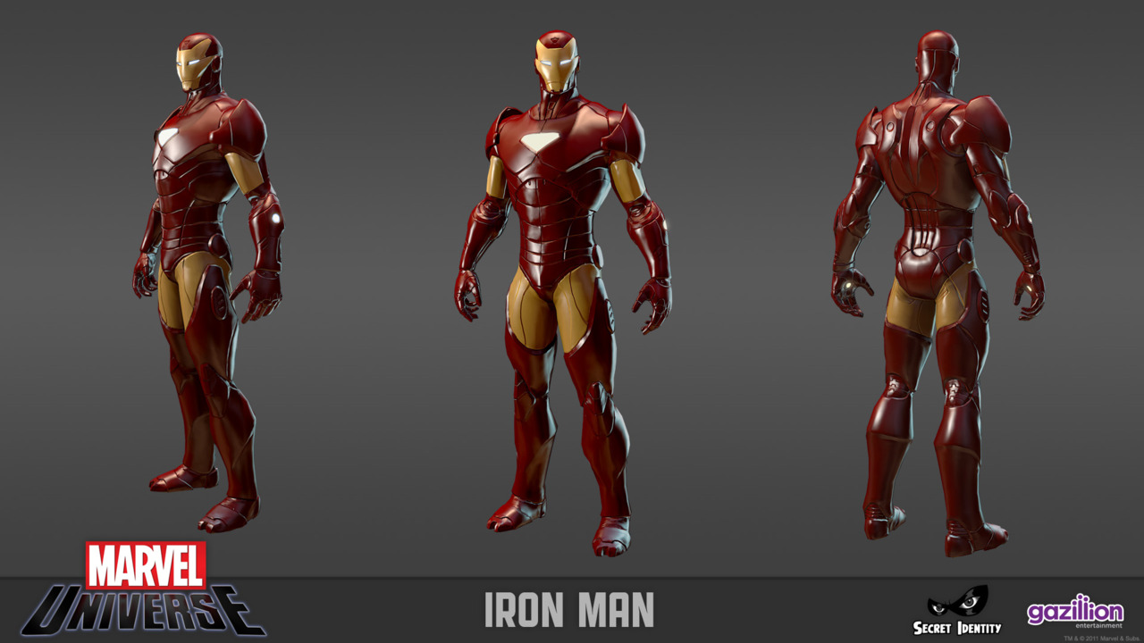 Marvel heroes online iron man
