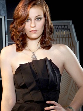 Cassidy Freeman :Cassidy Freeman Latest Photos in Black Tight Backless Gowns