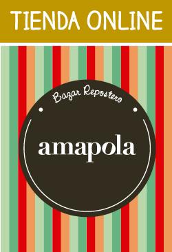 AMAPOLA BAZAR REPOSTERO ONLINE