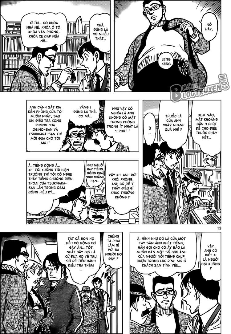 Detective Conan - Thám Tử Lừng Danh Conan chap 810 page 14 - IZTruyenTranh.com