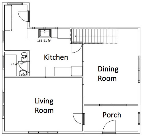 SoPo Cottage: Updating the Floor Plan - Moving Walls, Bathrooms