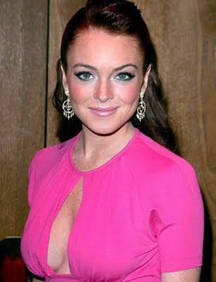 Lindsay Lohan signs