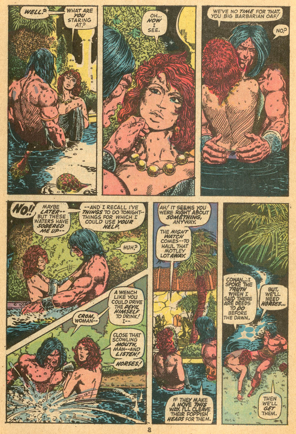 Conan the Barbarian (1970) Issue #24 #36 - English 7