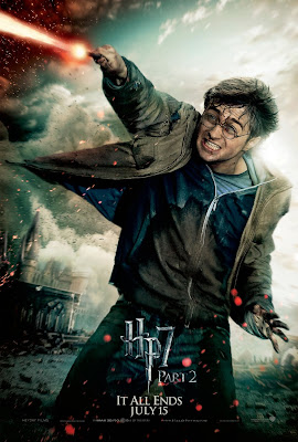 Harry Potter and the Deathly Hallows: Part 2 Character Movie Poster Set - Daniel Radcliffe as Harry Potter