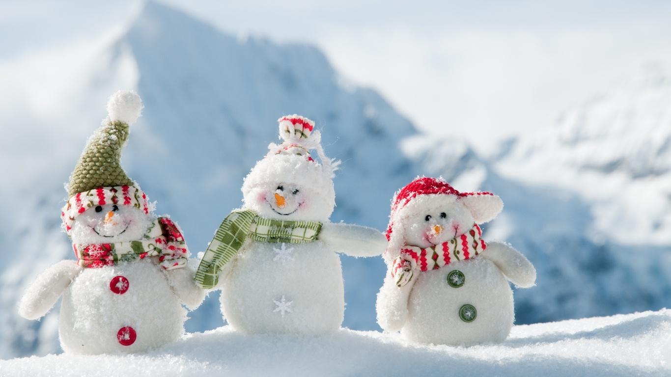Веселая зима