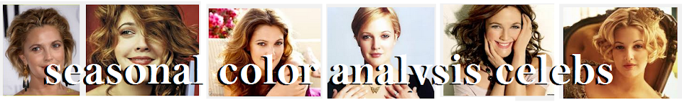 Seasonal Color Analysis Celebrities