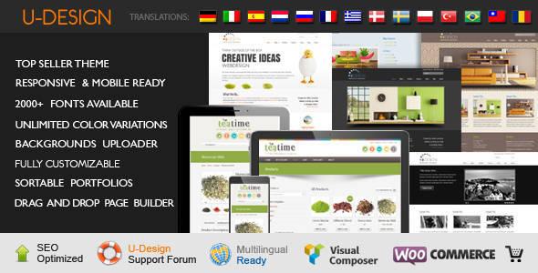 uDesign - Responsive WordPress Theme - Creative Business