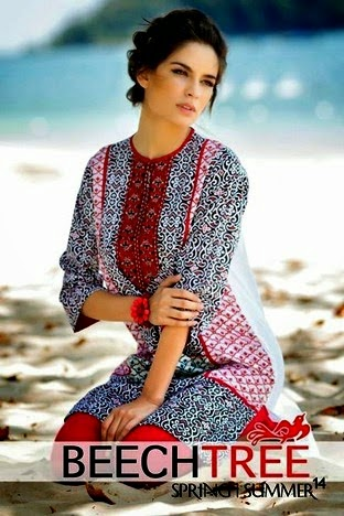 Beech Tree Eid Collection 2014 for Girls