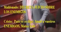 YIYE AVILA REPRENDE a GUILLERMO MALDONADO
