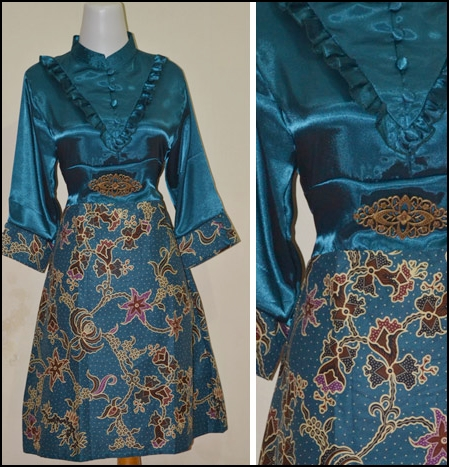Model Baju Batik Kantor Modern Aneka Remaja