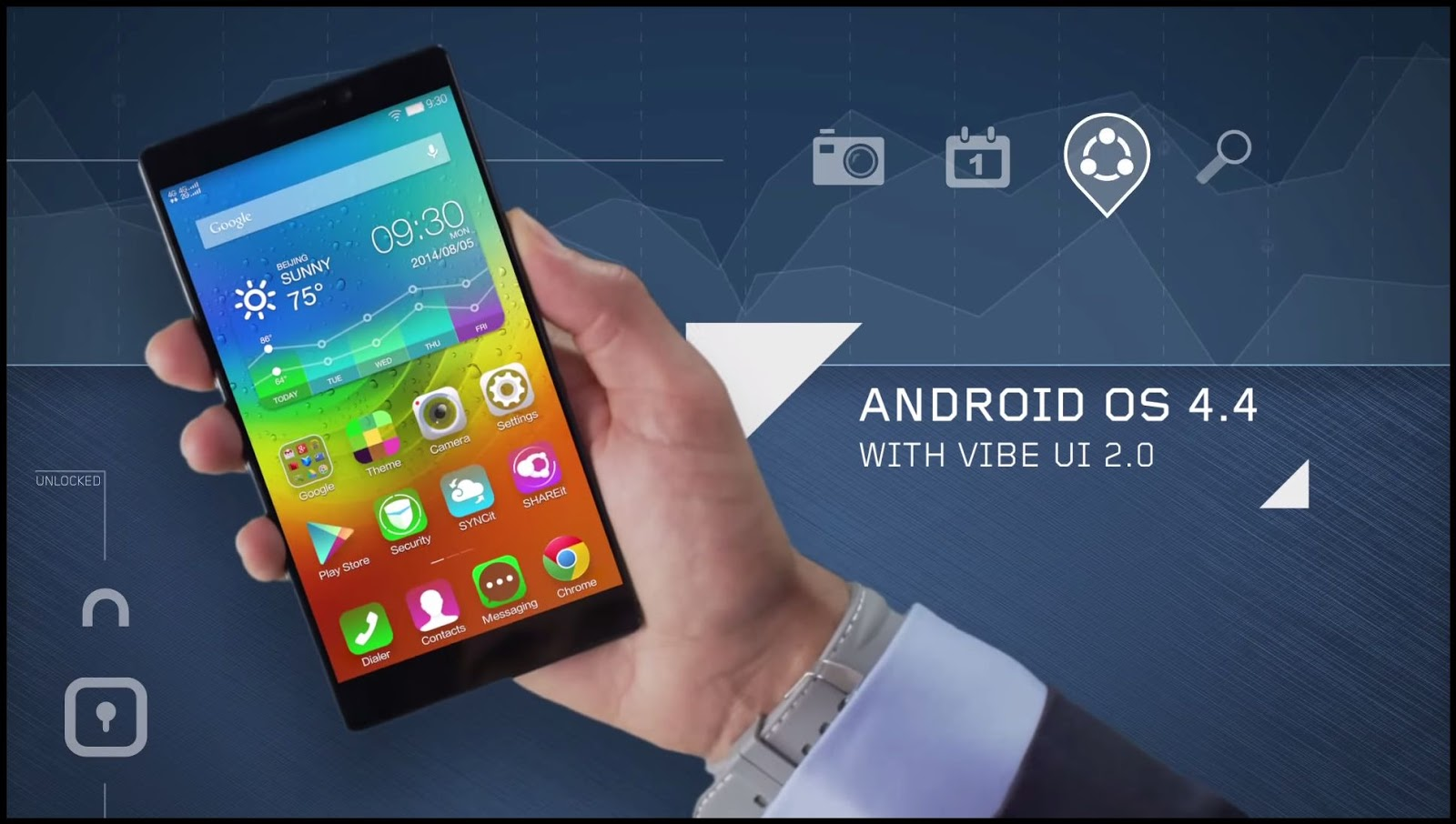 Smartphone Lenovo K920: review, specifications, reviews