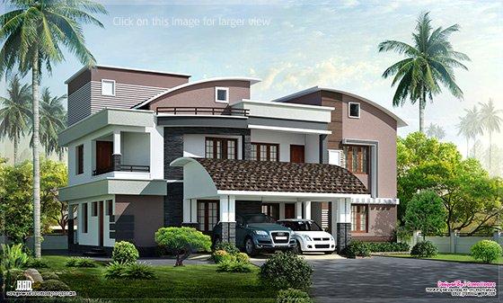 Modern style luxury villa