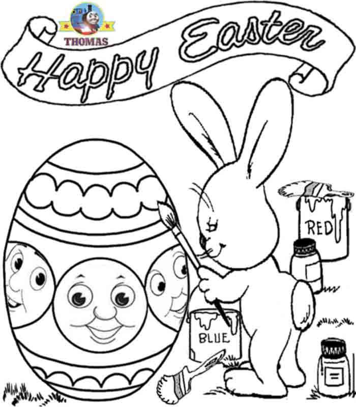 Easter Coloring Pages To Print | Great Idea Lifestyles