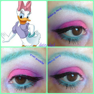 eye makeup look paperina disney