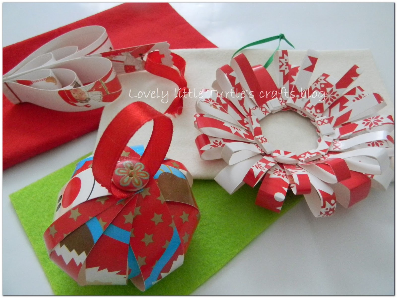 Lovely little turtle\'s crafts blog: Recycle your old Christmas cards