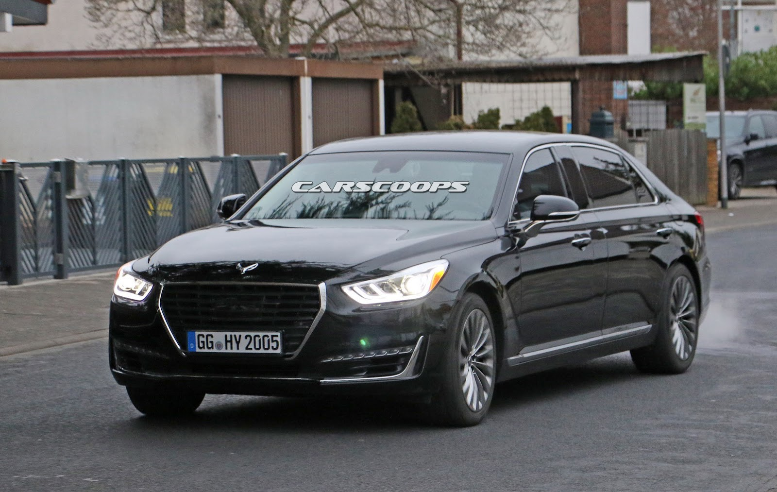 New Genesis Gets A Maybach Style Long Wheelbase Version