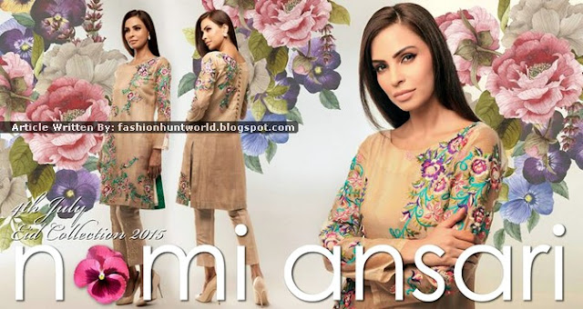 Nomi Ansari Eid Collection 2015