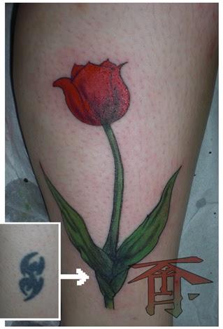best tattoos for men tulip tattoo designs. Black Bedroom Furniture Sets. Home Design Ideas