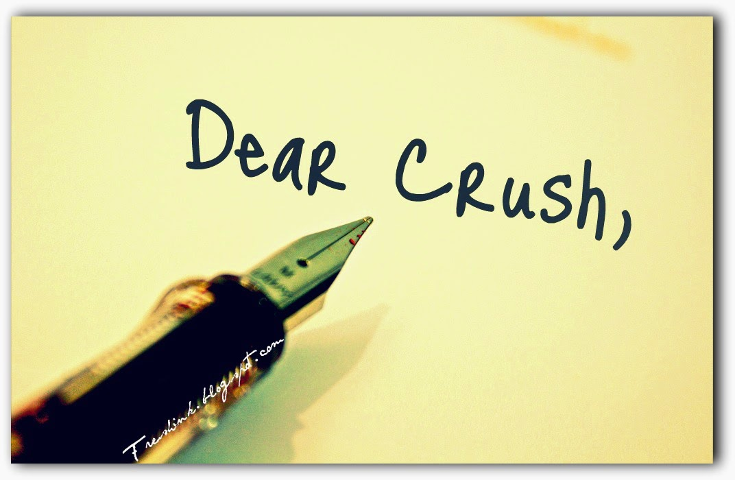 For valentines my crush letter letters to