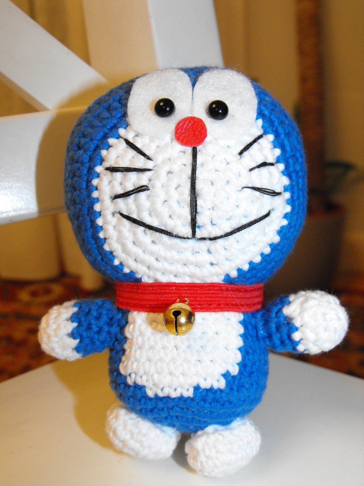 Amigurumi Doraemon Tutorial : Las cosas de Misimisi: Doraemon amigurumi (patron)
